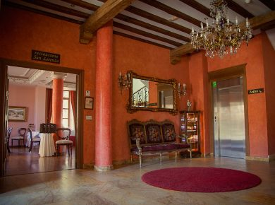 Recepción Palacio Azcárate