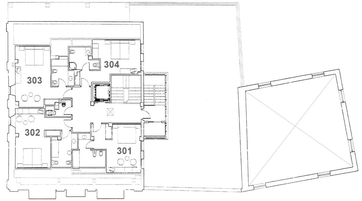 Hotel Palacio Azcárate planta 3